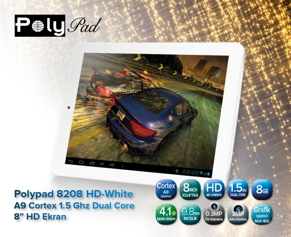 PolyPad 8208 HD ile Need for Speed Most Wanted