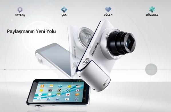 Android ve 3G ile hayatı anında paylaşan Samsung GALAXY Camera Türkiye´de