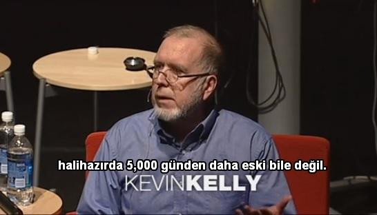 Kevin Kelly'den internet'in gelecek 5000 günü