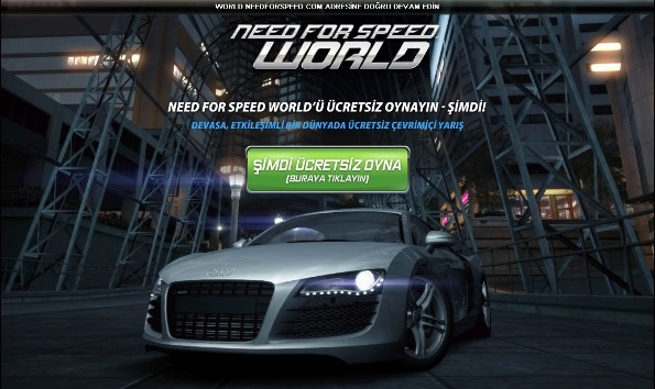 Need for Speed World Oynamak İster Misiniz?