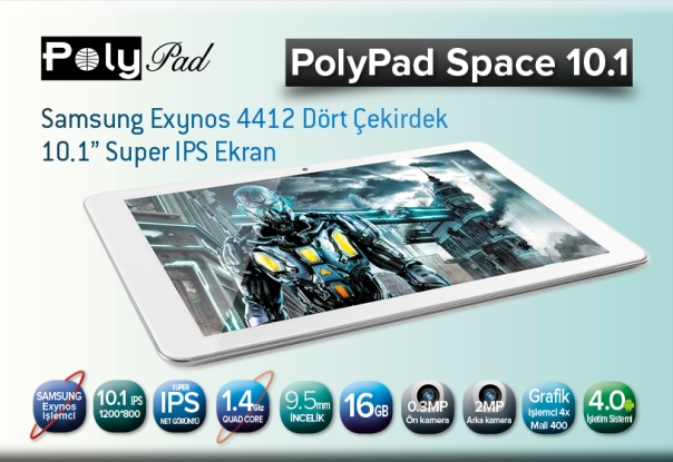 PolyPad Space 10.1