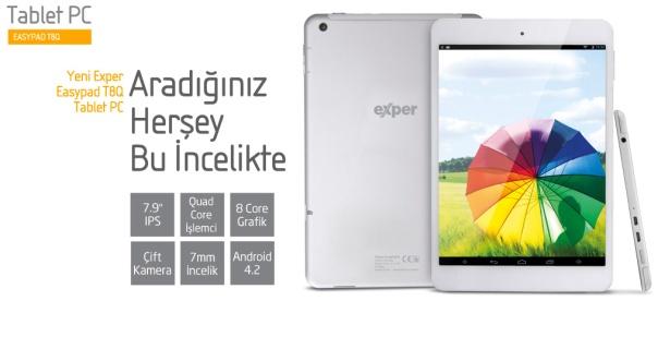 Exper EasyPad T8Q