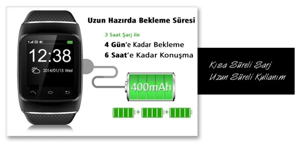 Smart Watch S88 batarya1