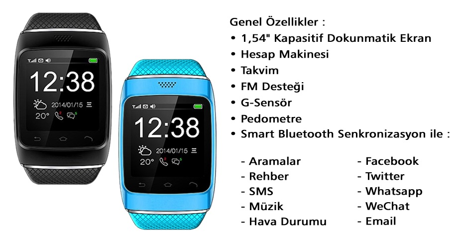 Smart Watch S88ozellik2