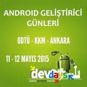Android Geliştirici Günleri 2015